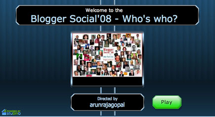 Blogger Social Who's Who Quiz
