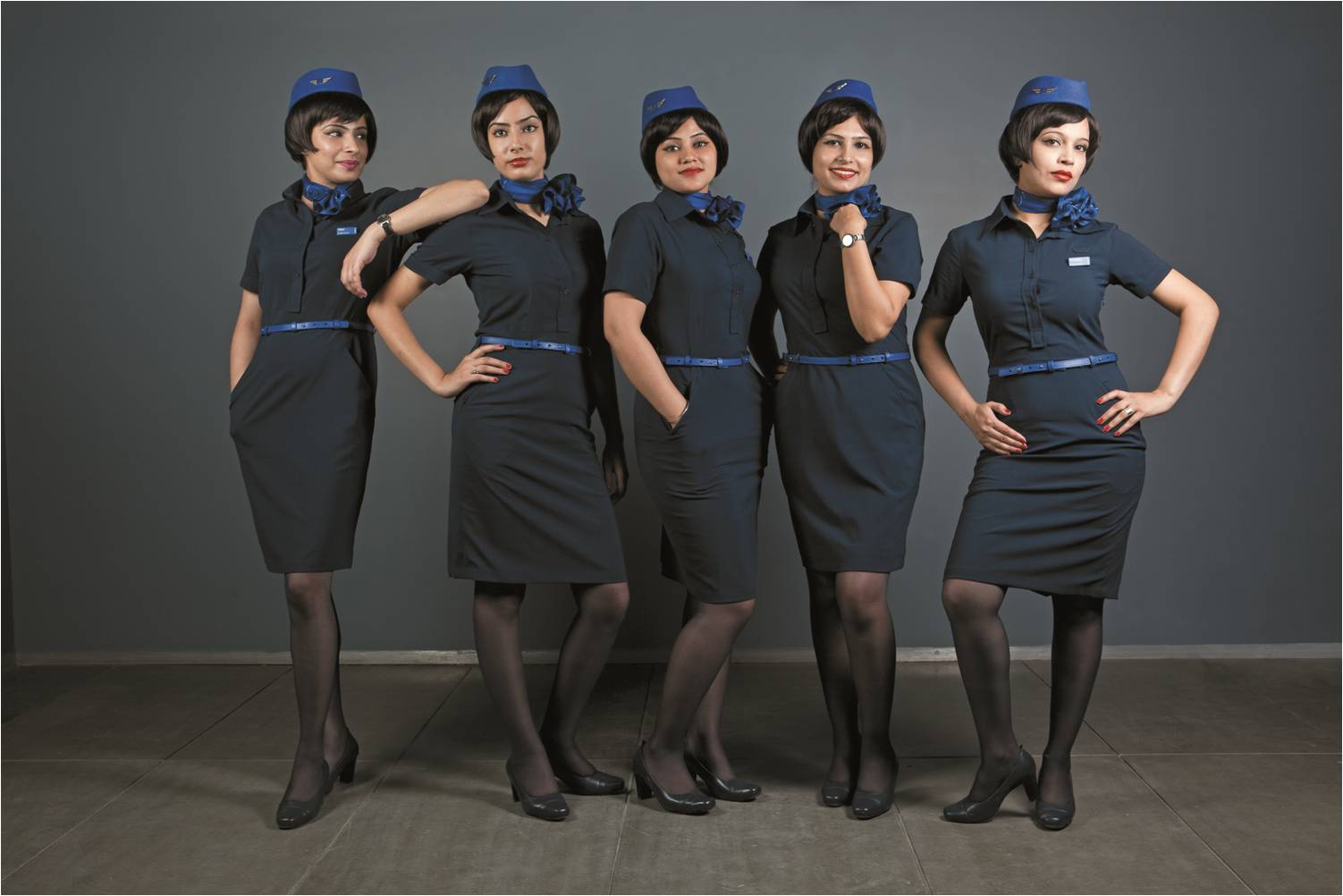 The best cabin crew uniform in