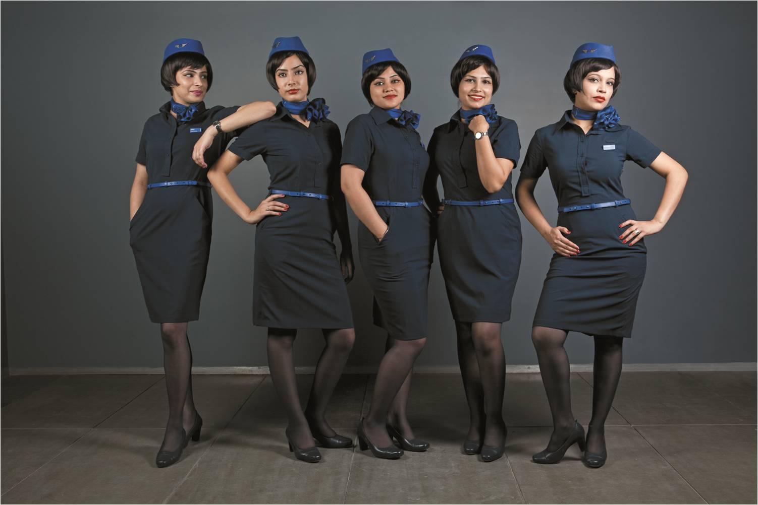 Air hostess resumes india
