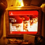 ice - Emirates' inflight entertainment system has a whopping 1,400 channels to choose from.
