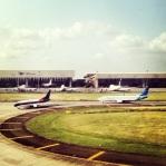 Landing at Soekarno Hatta International Airport.