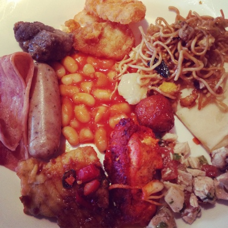 Another hotel breakfast. Drool.