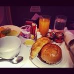 Breakfast on Board.
