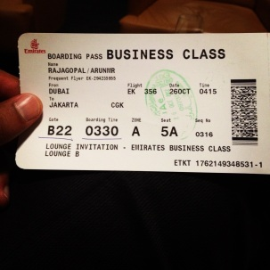This was my first trip on Emirates Boeing 777-300ER Business Class.